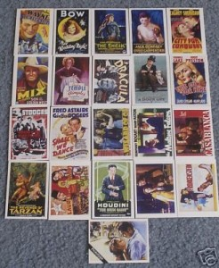 WTE  Classic Movie Poster Cards