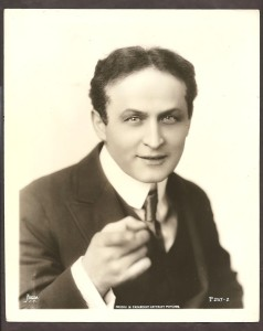 1920s Harry Houdini Original Paramount Pictures Photo