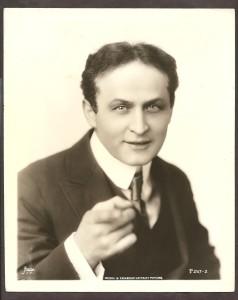 1920s Harry Houdini Original Paramount Pictures Photo