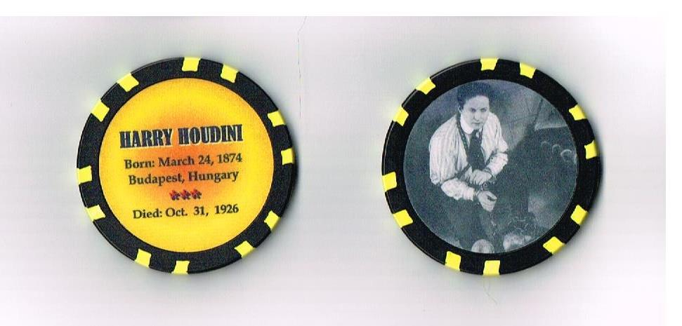 Happy Birthday Harry Houdini!