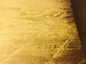 Closeup of Still Number