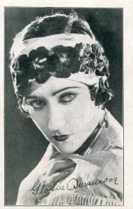 1924 Gloria Swanson Actress Toledo Theatre Promo Card