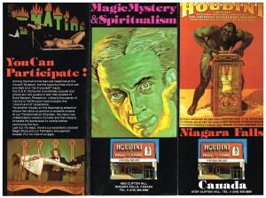 Houdini Museum 1979 Brochure