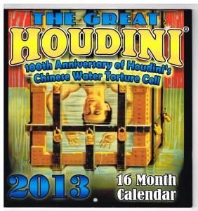 100th Anniversary Water Torture Cell Calendar