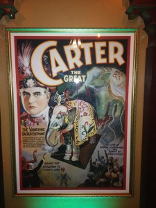 Carter Disappearing Elephant Lithograph
