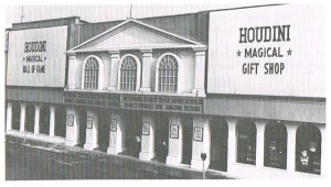 The Original Houdini Hall of Fame (photo from a later Guide Book)
