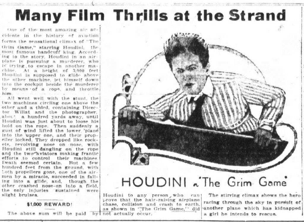 Fort Wayne Indiana 19 Oct 1919 Ad 2