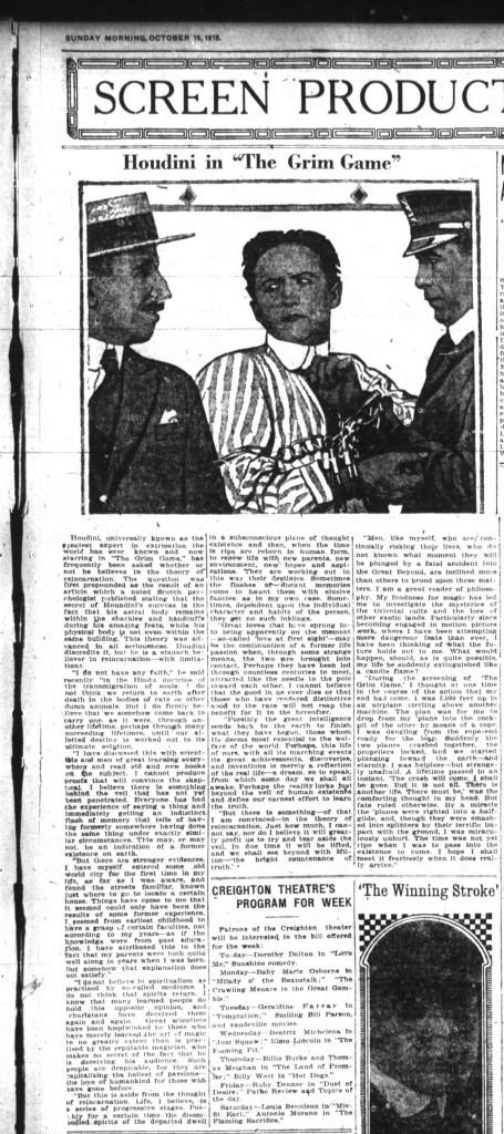 Fort Wayne Indiana 19 Oct 1919 Ad 4