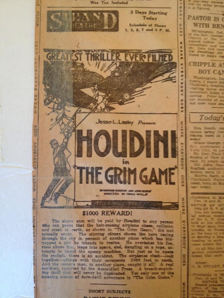 December 25 1919 GG Ad1