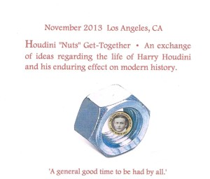 Houdini Nuts Get-Together Exchange
