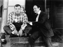 Arbuckle and Houdini with Cast