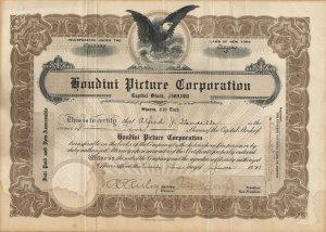 HPC Stock Certificate dated June 1921