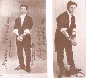 1903 Handcuff Photos from Original H Scrapbook
