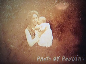 Baby Photo taken by Houdini