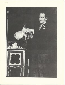Jack Gwynne performing the Chicken Trick