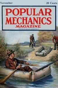 Popular Mechanics Nov 1919 cover
