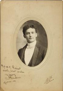 1900 Photo signed 1906