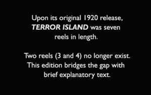 terror card disclaimer