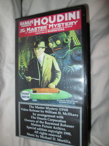 Master Mystery McIlhany Video Release Front