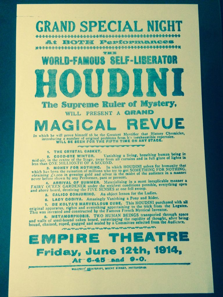 JUNE 12 1914 EMPIRE THEATRE NOTTINGHAM
