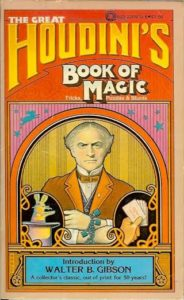 The Great Houdinis Book of Magic 1976 w Gibson Intro