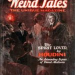 Weird Tales spirit lover cover